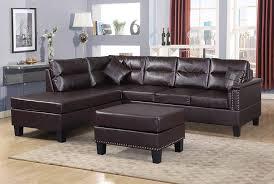 Leather Sofa Set Design Amazon Com Harper Bright Designs 3 Piece Sectional Sofa