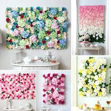 flower wall decor custom wedding theme artificial silk rose for wedding background flower wall decoration party flower wall decor