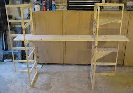 craft show display folding shelf by wudls on