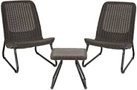 outdoor chairs set of 2 - Amazon.com