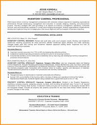 Supply Chain Resume Examples New Procurement Manager Resume Format