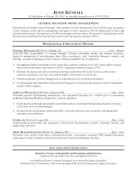 Resume For Housekeeping Supervisor Hotel Housekeeping Supervisor