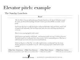 Elevator Pitch Examples For Students Example Elevator Speech Pitch Examples For Students Telling Your