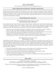 Sample Human Resource Resumes Hr Resumes Samples Human Resources Resume Manager Cv Mmventures Co