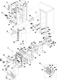 samsung refrigerator wiring schematic wiring diagrams schematics Whirlpool Refrigerator Ice Dispenser Parts samsung model rs2578bb xaa side by side refrigerator genuine parts ge fridge schematics whirlpool refrigerator schematic
