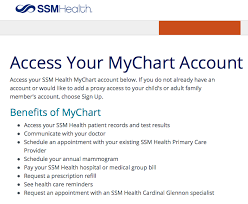 Ssm Doctors Note Www Ssmhealth Com Mychart Mychart Ssm Health