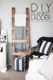 diy blanket ladder free plans