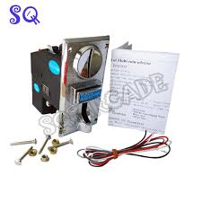 Vending Machine Coin Mechanism Classy CH 48 Multi Coin Acceptor Selector Mechanism For 48 Kinds Of Coins