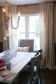 updated photos of the drop cloth curtains