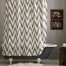 chevron shower curtain i yellow and grey shower curtain s on houzz