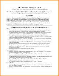 6 Social Work Resume Sample Hr Cover Letter