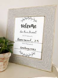 Free Printable Welcome Cards Wifi Network And Password Sign Free Printable Download