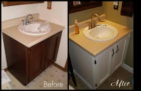 painting bathroom vanity before and after. where meets function the bathroom painting vanity before and after v