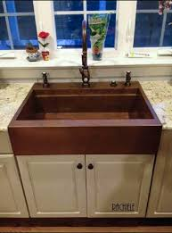 do you have an existing under mount sink and would like an a front farmsink i own the patent the process is very easy