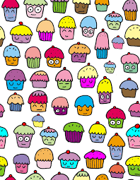cute animated cupcakes wallpaper. Beautiful Animated Cupcake Gallery Images I Love Cupcakes U003c3 HD Wallpaper And Background Photos With Cute Animated Wallpaper C