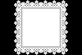 可愛い四角レース素材 レース素材専門サイト Da Laceダレース