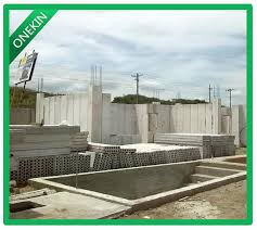 onekin 100mm precast wall panels for internal use has below additional values water resistance water absorption below 13