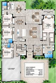 House Plan 207-00031 - Contemporary Plan: 3,591 Square Feet, 4 Bedrooms,  4.5 Bathrooms