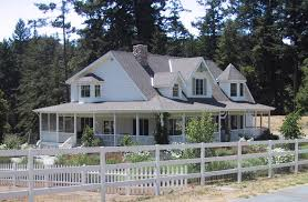 ranch victorian wrap around porch small house plans with por