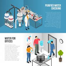 Water Purification Banners Vector Free Download