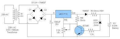 energy saving schematic diagram solar battery charger diy battery charger circuit diagram