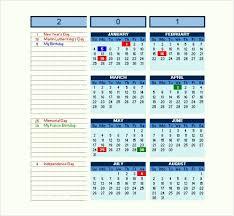 Free Excel Calendar Templates Rmservice Us