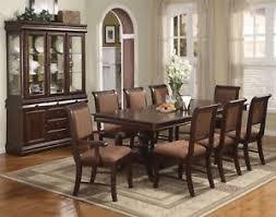 6 image is loading merlot 9 piece formal dining room furniture set on formal dining