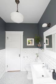Two Tone Bathroom Tile Designs Two Tone Bathroom Small Bathroom Makeover Industrial