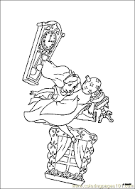 Small Picture Alice In Wonderland Coloring Page 14 Coloring Page Free Alice in