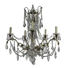 Antique French Light Fixtures Antique French Chandelier From Baccarat 1880s