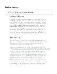 structuring virtual teams attachments
