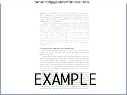 Senior Mortgage Underwriter Resume Mortgage Loan Processor Resume