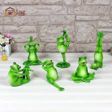 garden ornaments and accessories. Yoga Frog Thriving Home Garden Ornaments , Accessories And Creative Combination Package Resin Simulation U