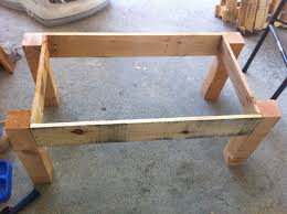how to make wood pallet end tables quick woodworking