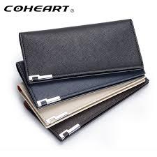 slim wallet men thin wallet men leather purse soft