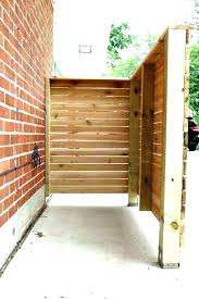 garbage can storage plans fashionable outdoor trash enclosure bin how to build wooden