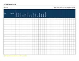 Fleet Vehicle Maintenance Log Template Pretty Of Checklist