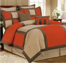 orange and brown bedding. Perfect Brown Orange Comforter Sets Images Of Brown Bedding Set Grey  On And