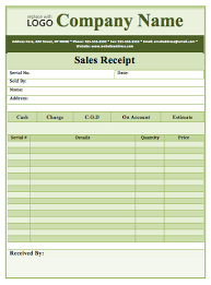 Receipt Templates Archives Word Templates
