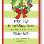 Fun Holiday Party Invitation Wording Funny Christmas Party