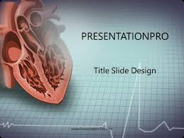 Heart Powerpoint Templates Heart Powerpoint Template Background In Medical Healthcare