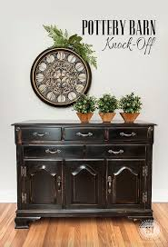 recreate furniture. 5 tips on how to create a distressed black pottery barn finish dated furniture recreate o