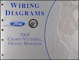 2005 ford crown victoria mercury grand marquis wiring diagram manual