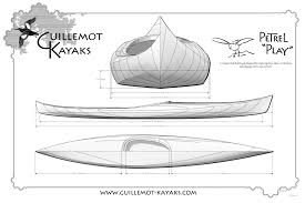 full sized plans to build the petrel play strip built wood kayak