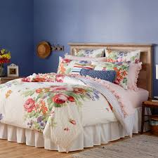 the pioneer woman beautiful bouquet comforter white