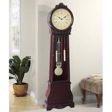 office large size floor clocks wayfair. 72 Office Large Size Floor Clocks Wayfair