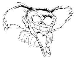 4 Killer Clown Kleurplaat Kayra Examples