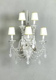 crystal chandelier wall sconces art 5 o crystal wall sconce o l h candle sconces for bathroom crystal chandelier with matching wall sconces sconces crystal