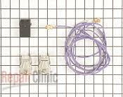 ge range stove oven parts fast shipping com element receptacle and wire kit part 1038747 mfg part wb17t10006