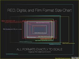 Image Sensor Size Comparison Chart Digital Sensor Sizes Compared To Film Doobybrain Com